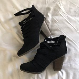 NEW Black Ankle Booties